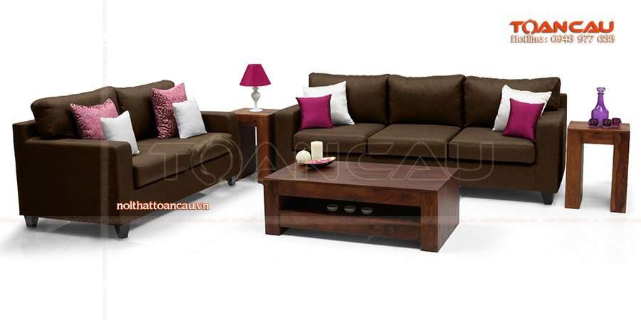 Bàn ghế gỗ phòng khách dưới 10 triệu hiện đại