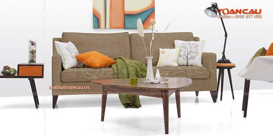 Bàn ghế gỗ phòng khách dưới 10 triệu đẹo thời thượng
