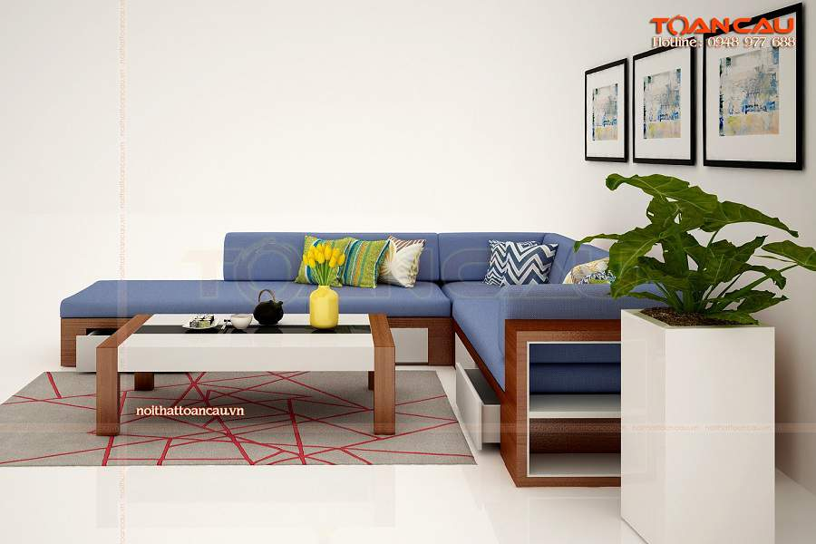 Bàn ghế phòng khách - TC153