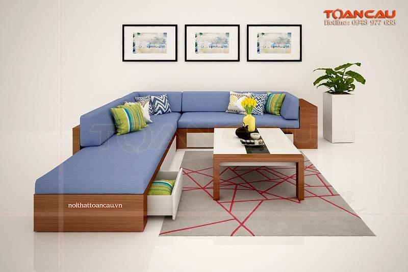bộ bàn ghế gỗ phòng khách giá rẻ, bộ bàn ghế phòng khách giá rẻ tiết kiệm diện tích