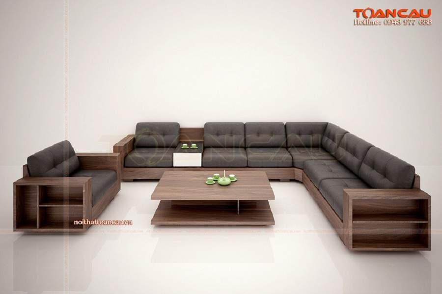 Bàn ghế gỗ phòng khách - TC149