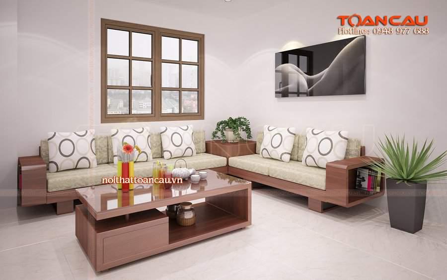 mẫu ghế gỗ phòng khách
