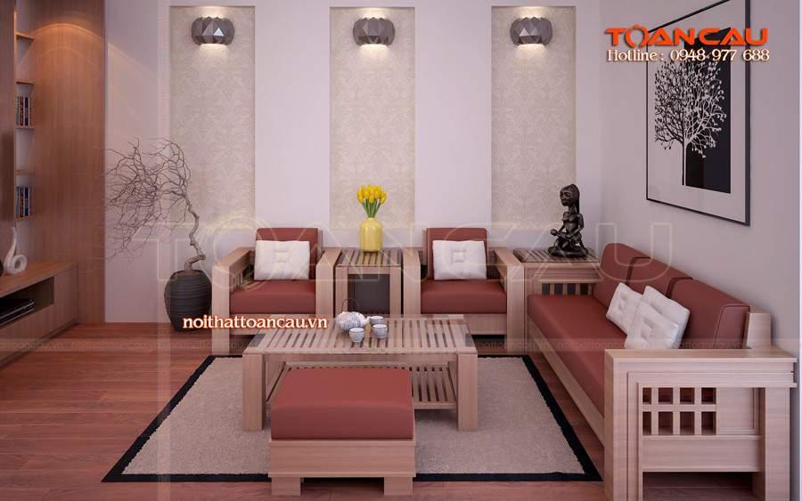 Mẫu bộ bàn ghế Sofa đẹp tại nhà khách thiết kế theo phong cách hiện đại, tốt nhất