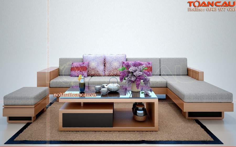 Bàn ghế gỗ phòng khách giá rẻ tại hải phòng