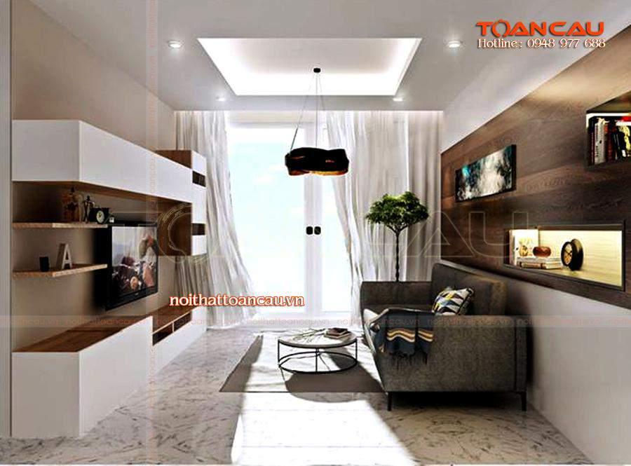 Thiết kế nội thất phòng sinh hoạt chung, ấn tượng nhất khi đến với Công ty nội thất Toàn Cầu.