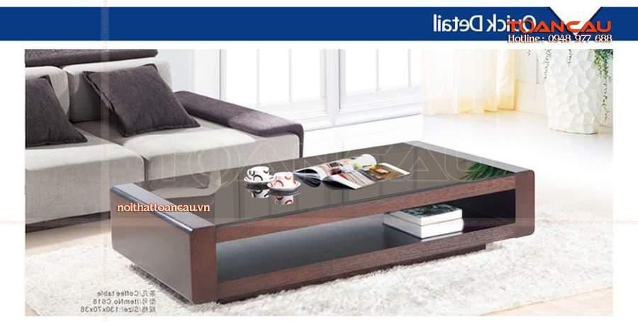 Mẫu thiết kế phòng khách đẹp bằng gỗ óc chó có thể sáng tạo thành nhiều kiểu dáng khác nhau