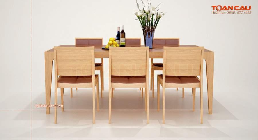 Bộ bàn ghế ăn đẹp luôn tạo ấn tượng mạnh mẽ cho người dùng