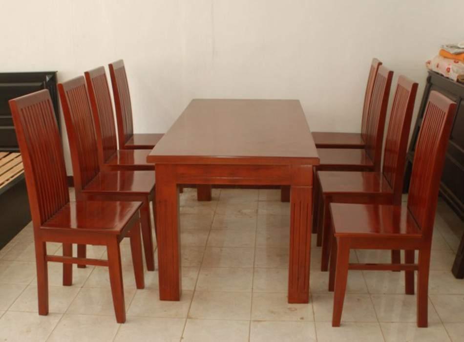 Mẫu bộ bàn ăn 8 ghế - TC14101