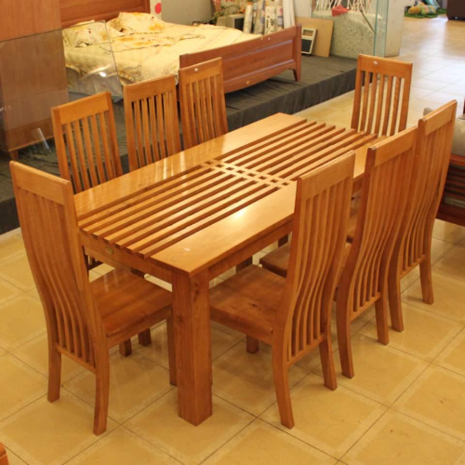 Mẫu bộ bàn ăn 8 ghế - TC14104