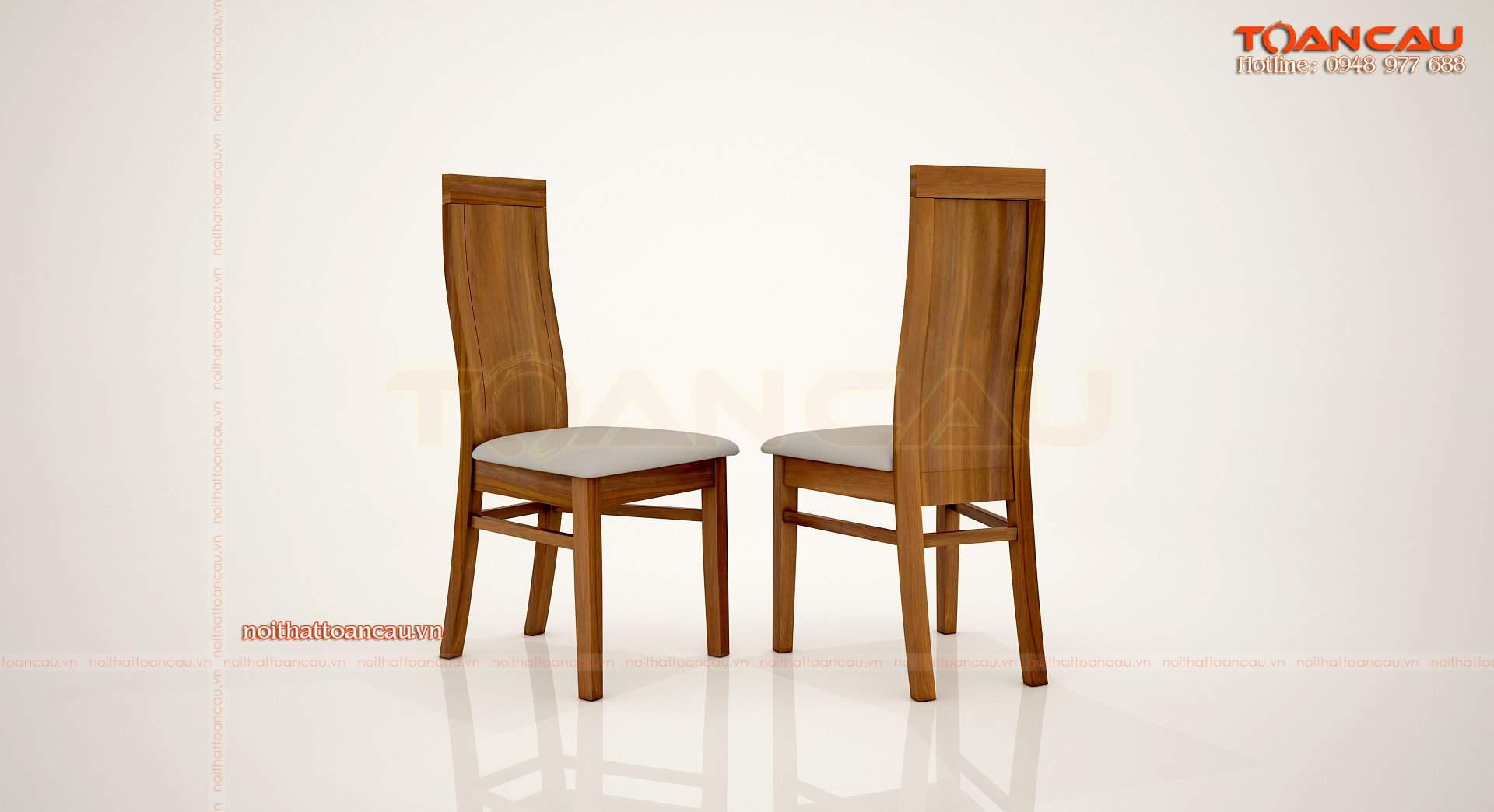 Bộ bàn ăn gỗ xoan đào 8 ghế - TC846