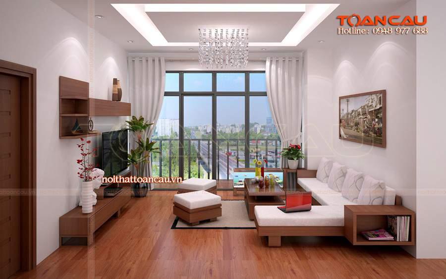 Để làm cho không gian phòng khách trở nên lý tưởng hơn bạn có thể lựa chọn nội thất bằng gõ đỏ