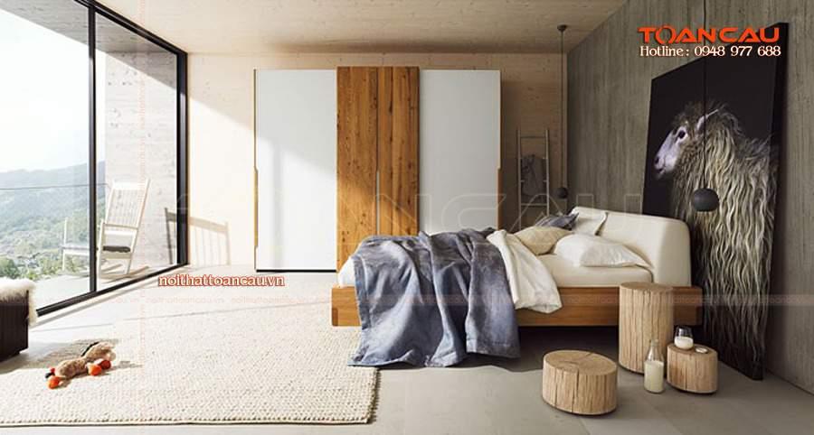 Bộ giường tủ phòng ngủ giá rẻ cho căn nhà như mơ