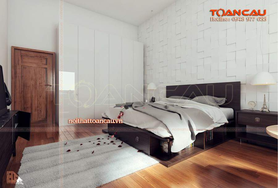 Bộ giường tủ phòng ngủ hà nội giá ưu đãi