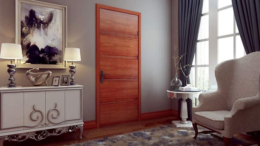 Các mẫu cửa gỗ đẹp hiện đại đẹp nhất