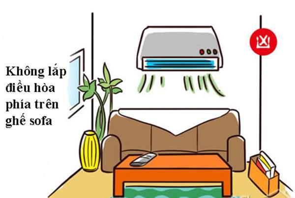 Cách bày trí phòng khách theo phong thủy cho căn phòng khách