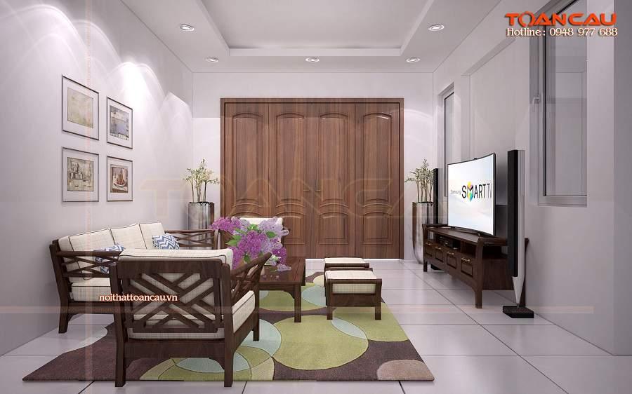 Giá bộ bàn ghế gỗ phòng khách bạn nên tham khảo kỹ
