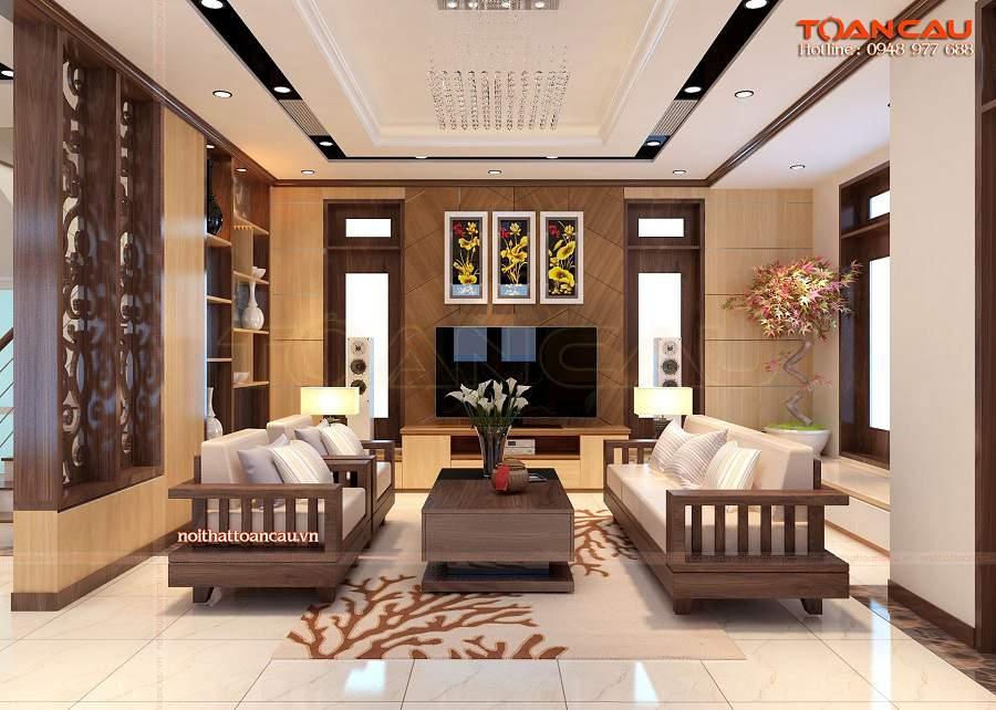 Giá bộ bàn ghế gỗ phòng khách, giá bộ bàn ghế phòng khách bạn nên mua