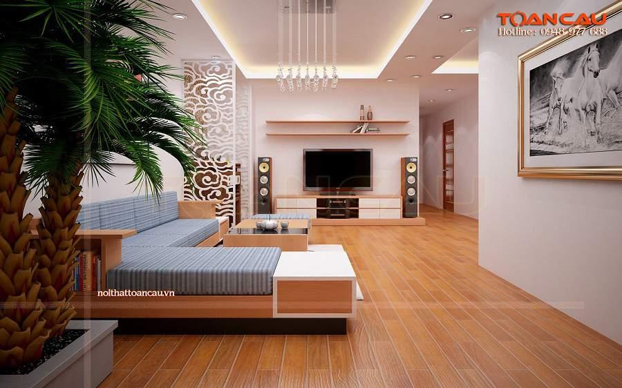 Bàn ghế gỗ phòng khách giá bình dân, bàn ghế phòng khách nhỏ gọn bạn nên mua