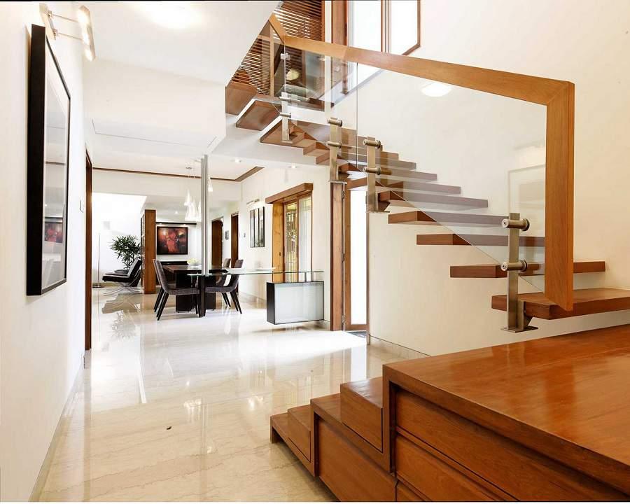 cách bố trí cầu thang trong nhà hẹp phù hợp mọi nhà