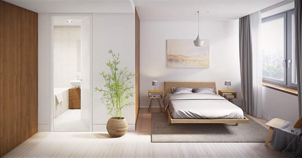 Không đặt nhà vệ sinh hướng thẳng vào phòng ngủ