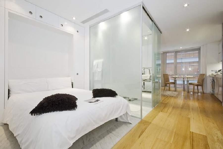 Cách bố trí nhà vệ sinh trong phòng ngủ hiện đại