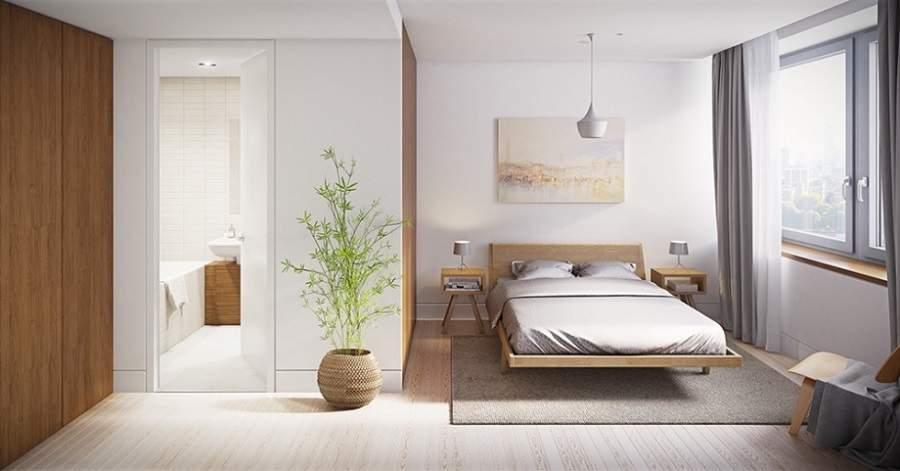Cách bố trí nhà vệ sinh trong phòng ngủ