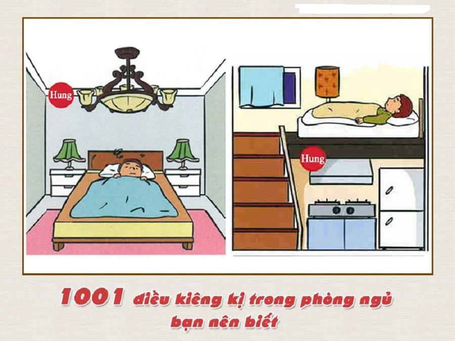 Cách hóa giải bếp đặt dưới phòng ngủ
