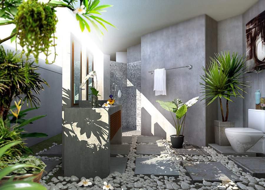 Cách hóa giải nhà vệ sinh ở giữa nhà