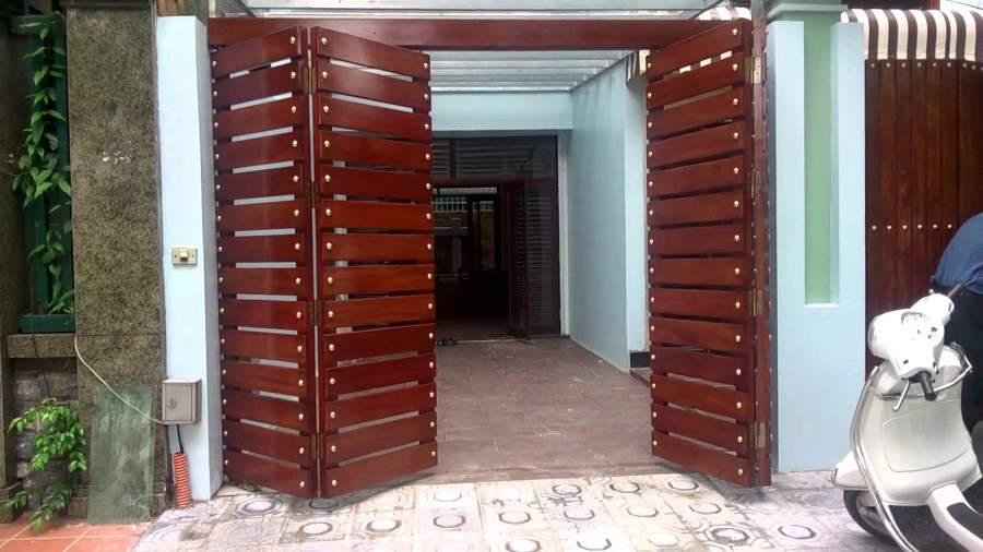 Cách khắc phục cổng thẳng cửa chính