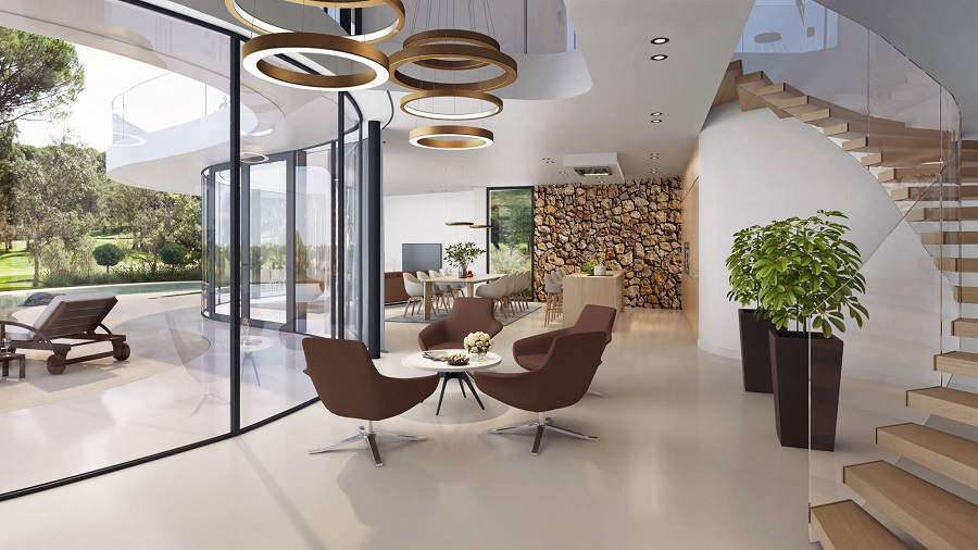 Cách phối màu nội thất trang trí phòng khách