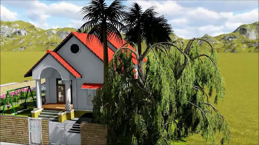 màu sơn nhà ngoài trời đẹp cho nhà cấp 4