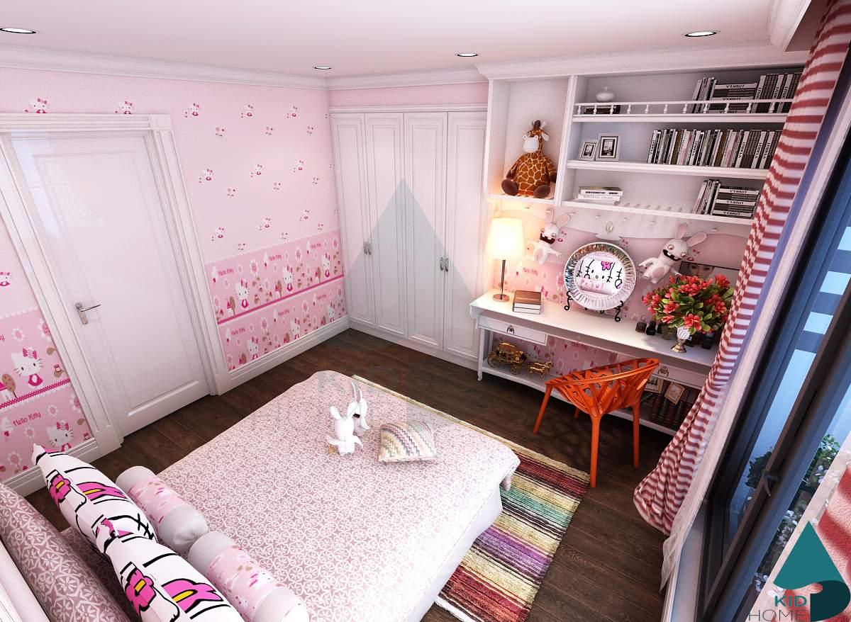 Trang trí cho phòng ngủ trẻ em đẹp