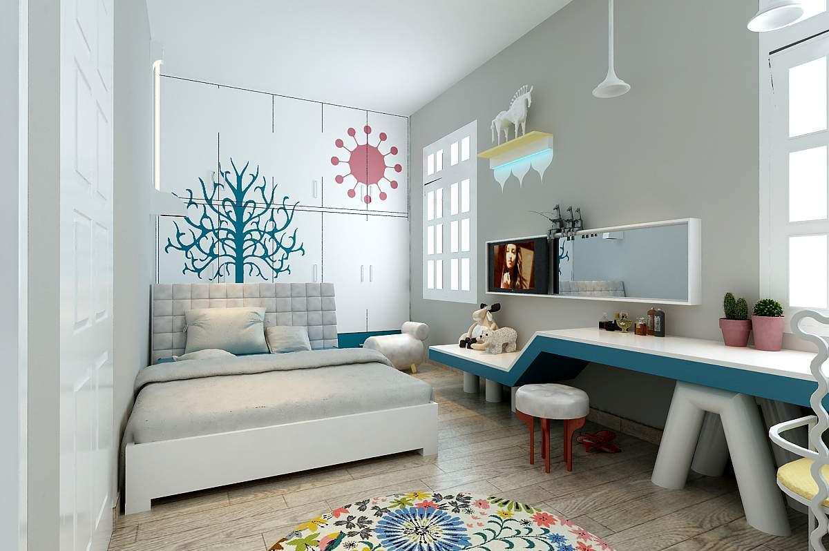 Phòng ngủ đẹp tinh tế và cuốn hút