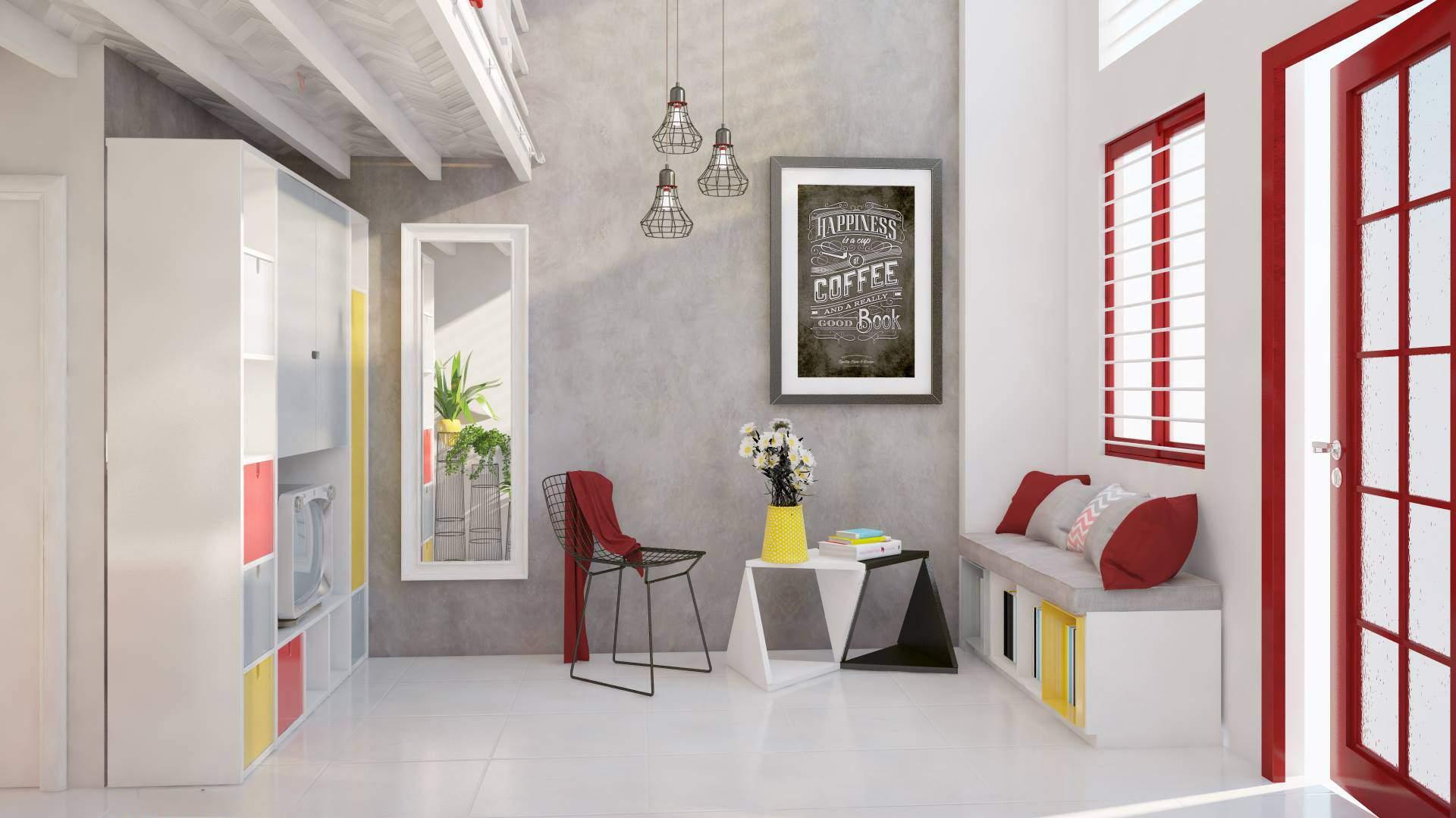 Sử dụng gam màu nhã nhặn cho căn phòng đẹp