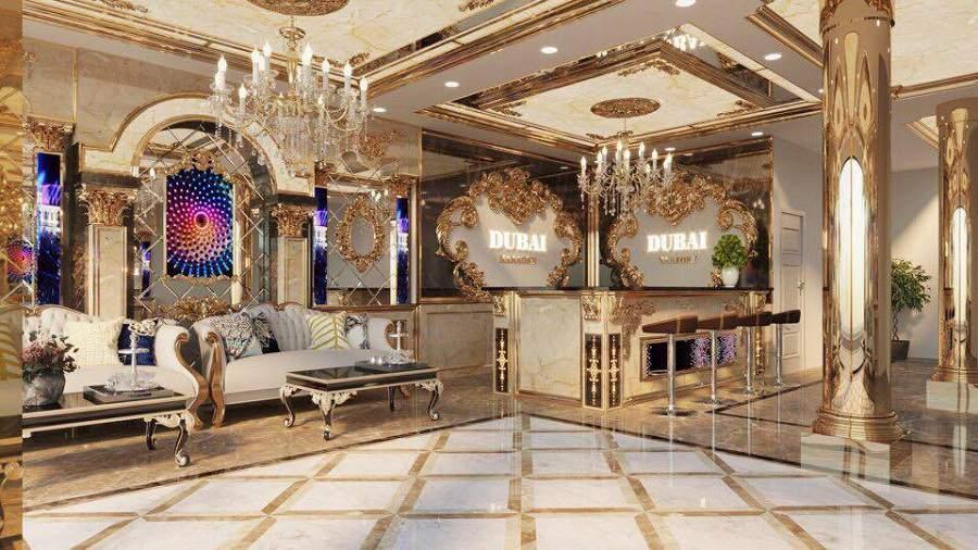 công ty thiết kế nội thất cho phòng cổ điển