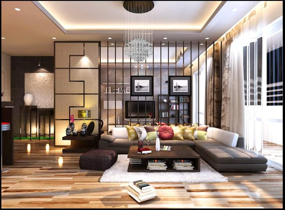 Thiết kệ nội thất chung cư linh đàm đẹp, hiện đại