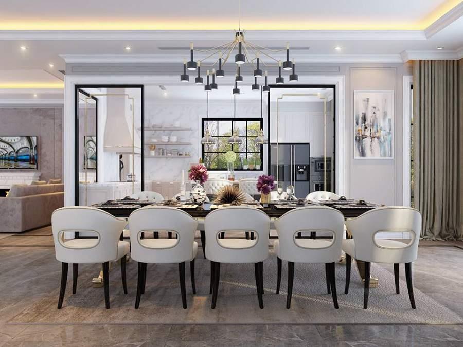 công ty thiết kế nội thất, công ty thiết kế nội thất tại tphcm phòng ăn hiện đại