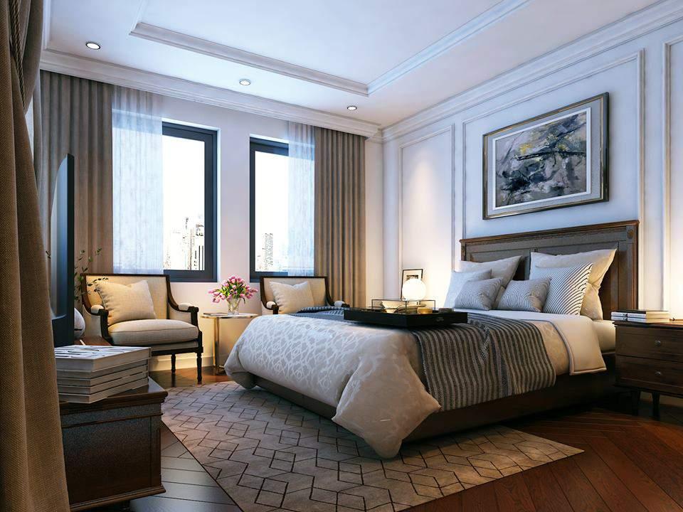 công ty thiết kế nội thất uy tín cho phòng ngủ hiện đại