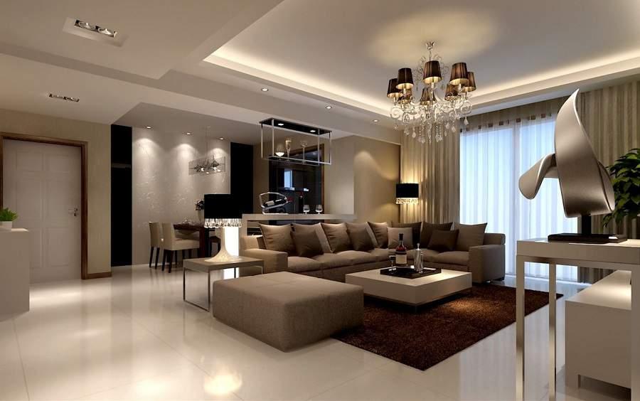 Đèn trang trí phòng khách hiện đại đẹp cho nhà xinh