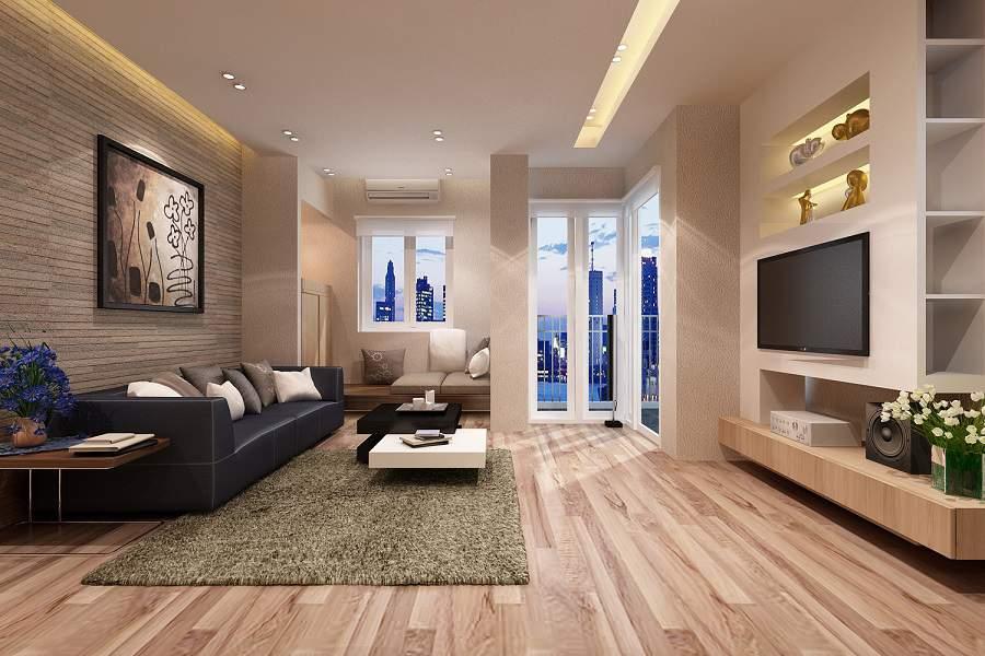 mẫu phòng khách nhà ống hiện đại đẹp ưng ý