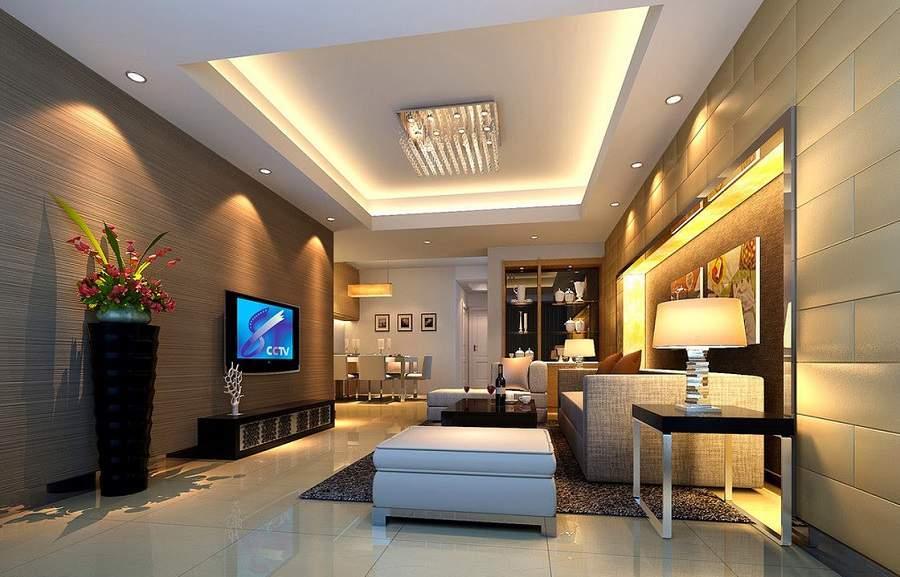 thiết kế phòng khách đơn giản đẹp ưng ý