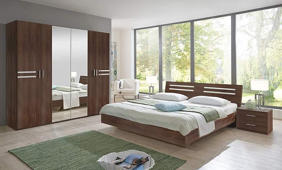 Đóng nội thất phòng ngủ gỗ óc chó