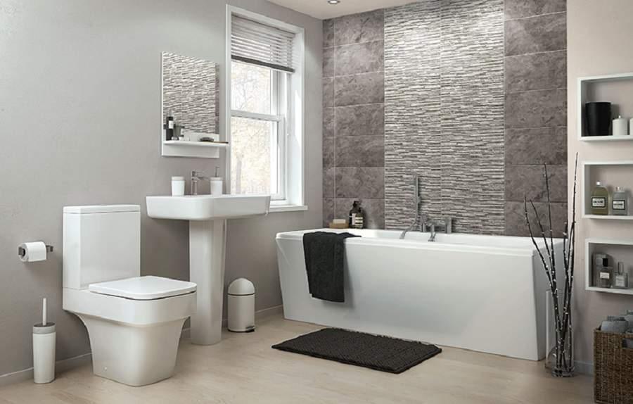 Gạch lát nền nhà tắm chống trơn rất đẹp