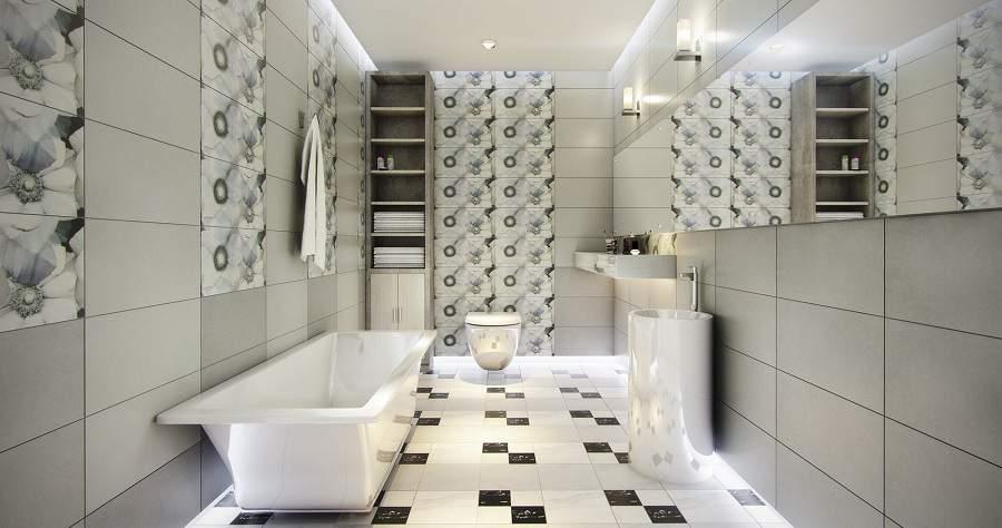 gạch ốp lát nhà vệ sinh cao cấp cho nhà xinh