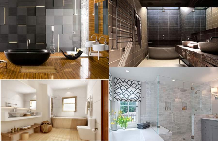 gạch ốp lát nhà vệ sinh cao cấp nên chú ý chất liệu