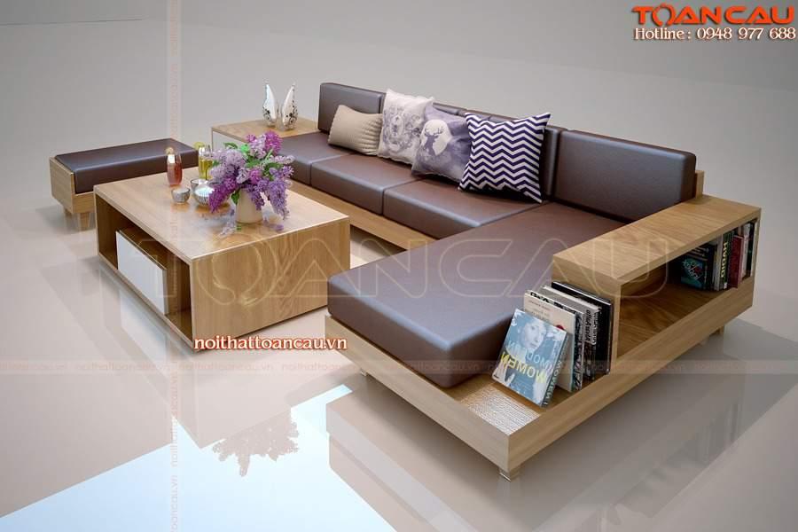 TC 143 – sự khác biệt, dẫn đầu xu thế sofa gỗ hiện tại