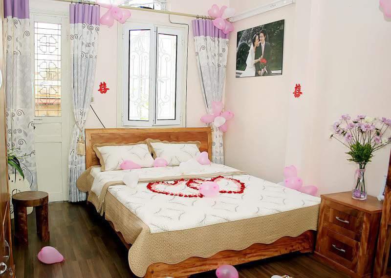 Mẫu giường cưới đẹp – TC13161