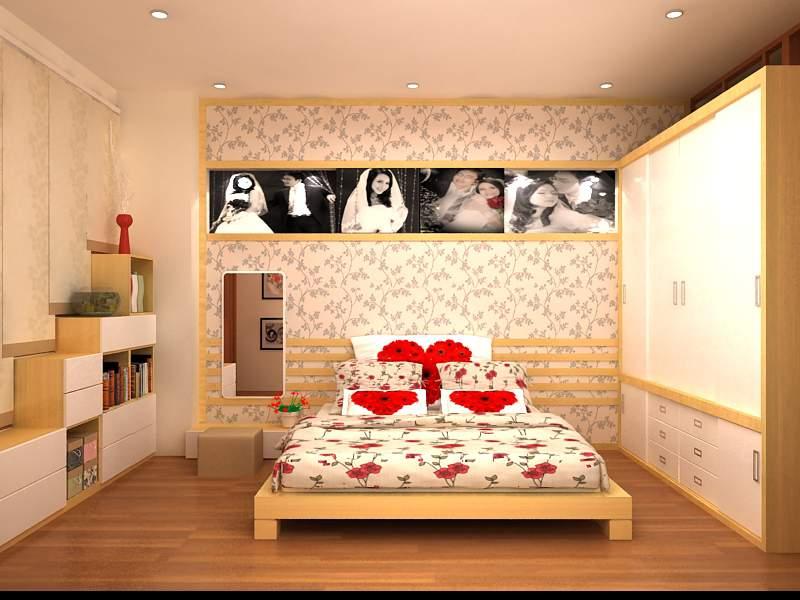 Mẫu giường cưới đẹp – TC13164