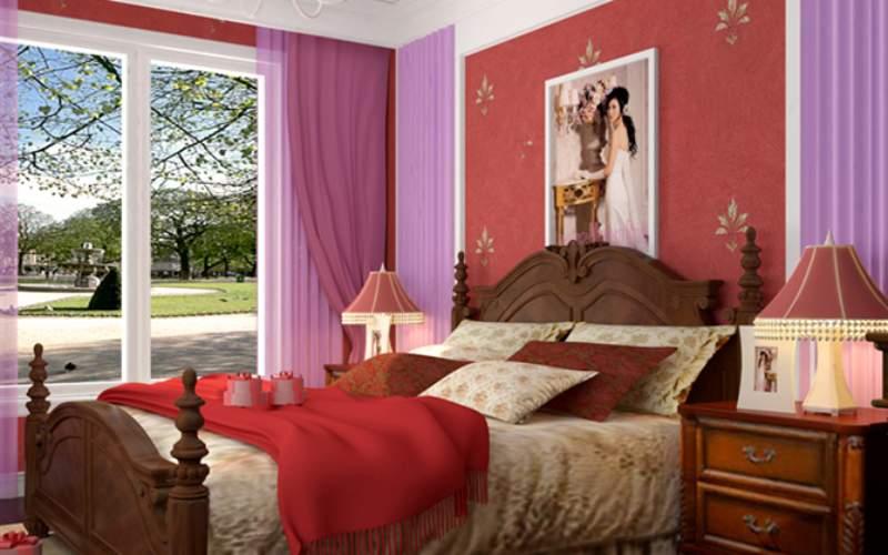 Mẫu giường cưới đẹp – TC13166