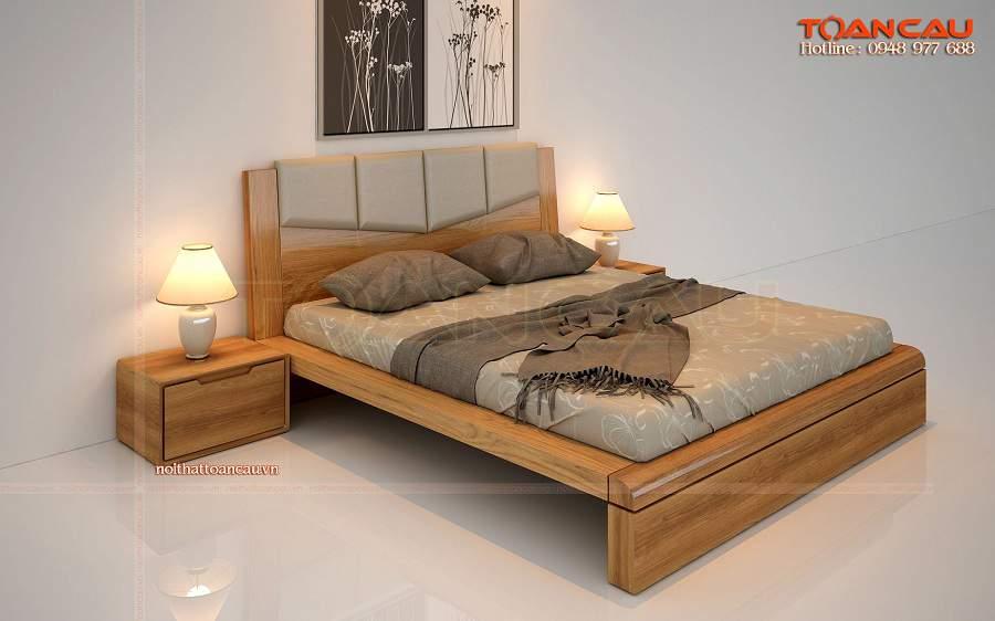 đóng giường gỗ giá rẻ, đóng giường ngủ giá rẻ tinh tế